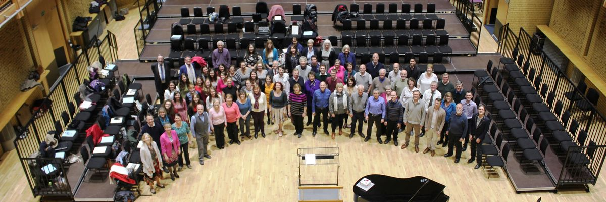 CBSO Chorus in rehearsals at CBSO Centre.