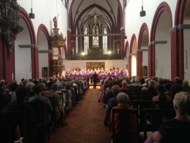 Our first concert in Brandenburg Cathedral.
