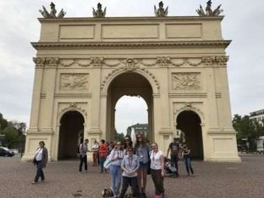 Brandenburg Gate in Potsdam.