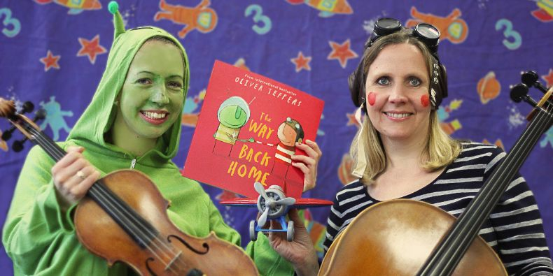 CBSO Musicians Bryony and Helen.