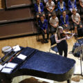 CBSO Musicians performing a movement of the new piece.