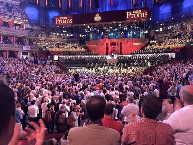 CBSO and CBSO Chorus perform Beethoven 9 at the BBC Proms. Credit: Eve Smith.
