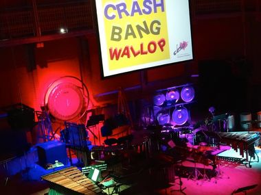 Percussion Ensemble Crash Bang Wallop.