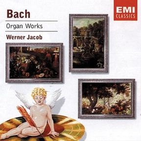 bach organ works.