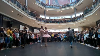 Bullring came to a standstill for Birmingham Royal Ballet.