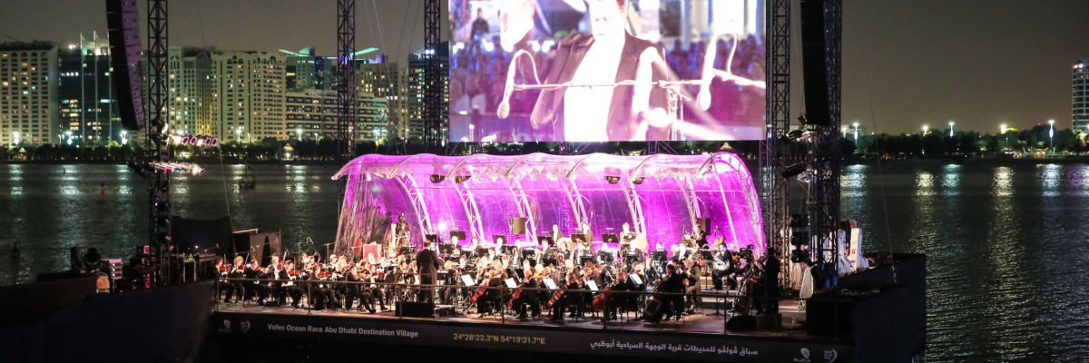Excellence Floating Concert In Abu Dhabi Credit John Maranon.