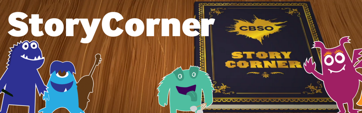 Family Banners Story Corner.