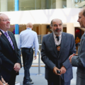 HRH was greeted by Stephen Maddock OBE and Anita Bhalla OBE.