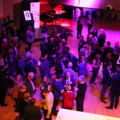 Members enjoying Mirga's Welcome Reception at CBSO Centre.