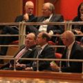 In the concert with CBSO Chief Executive Stephen Maddock.