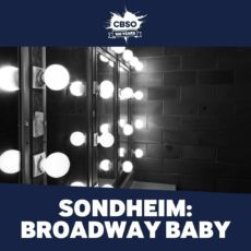 Spotify Playlist Cover Art Sondheim.