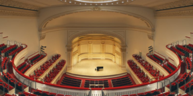 Carnegie Hall New York.