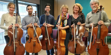 Cello Ensemble 24 June.