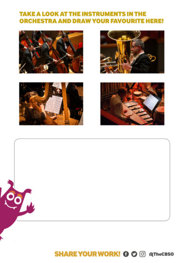 Cbso Draw An Instrument.