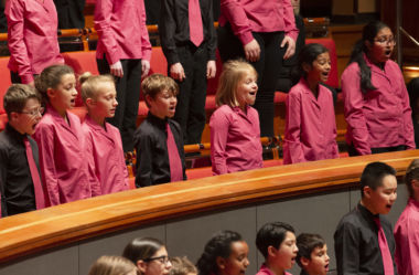 CBSO Children's Chorus perform at Symphony Hall.