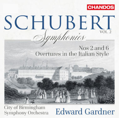 Chandos Schubert Symphonies Vol2 Cd.