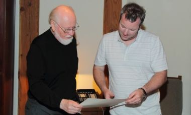 John Williams and Tommy Pearson in 2012. Credit: Classic FM.