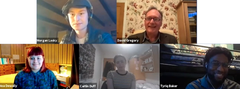 4 Youth Ambassadors share their experiences of the project.