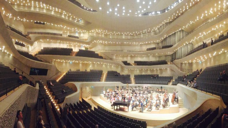 The Magnificent Grosser Saal In Hamburgs Elbphilharmonie.
